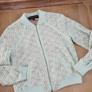 Victoria Beckham for Target Lace overlay Bomber